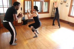 International Producer and American Choreographer Sean McLeod works with NYC Professional Dancer Ruth Rae on applying the expert knowledge already in her possession.